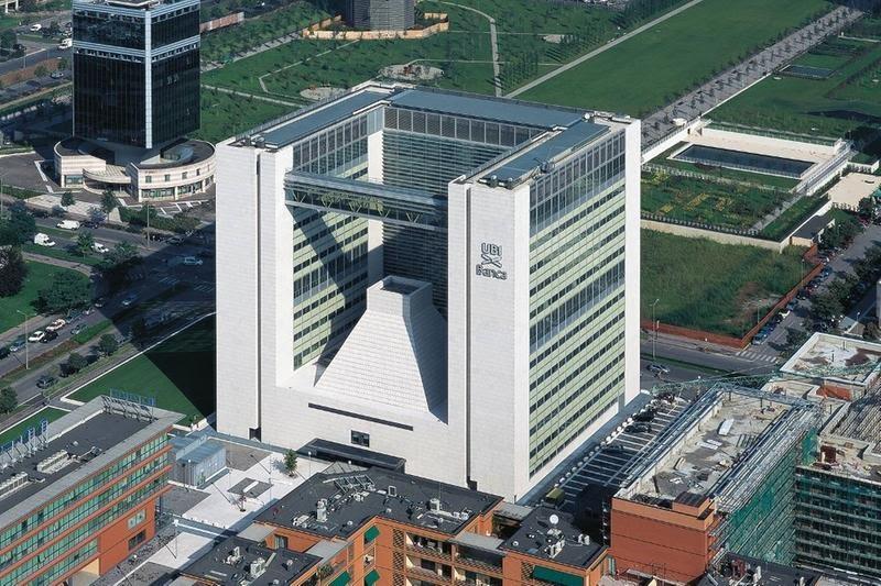 La sede di Ubi Banca in via Cefalonia a Brescia